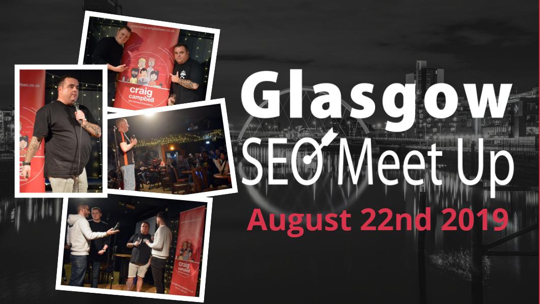 SEO Glasgow Meetup