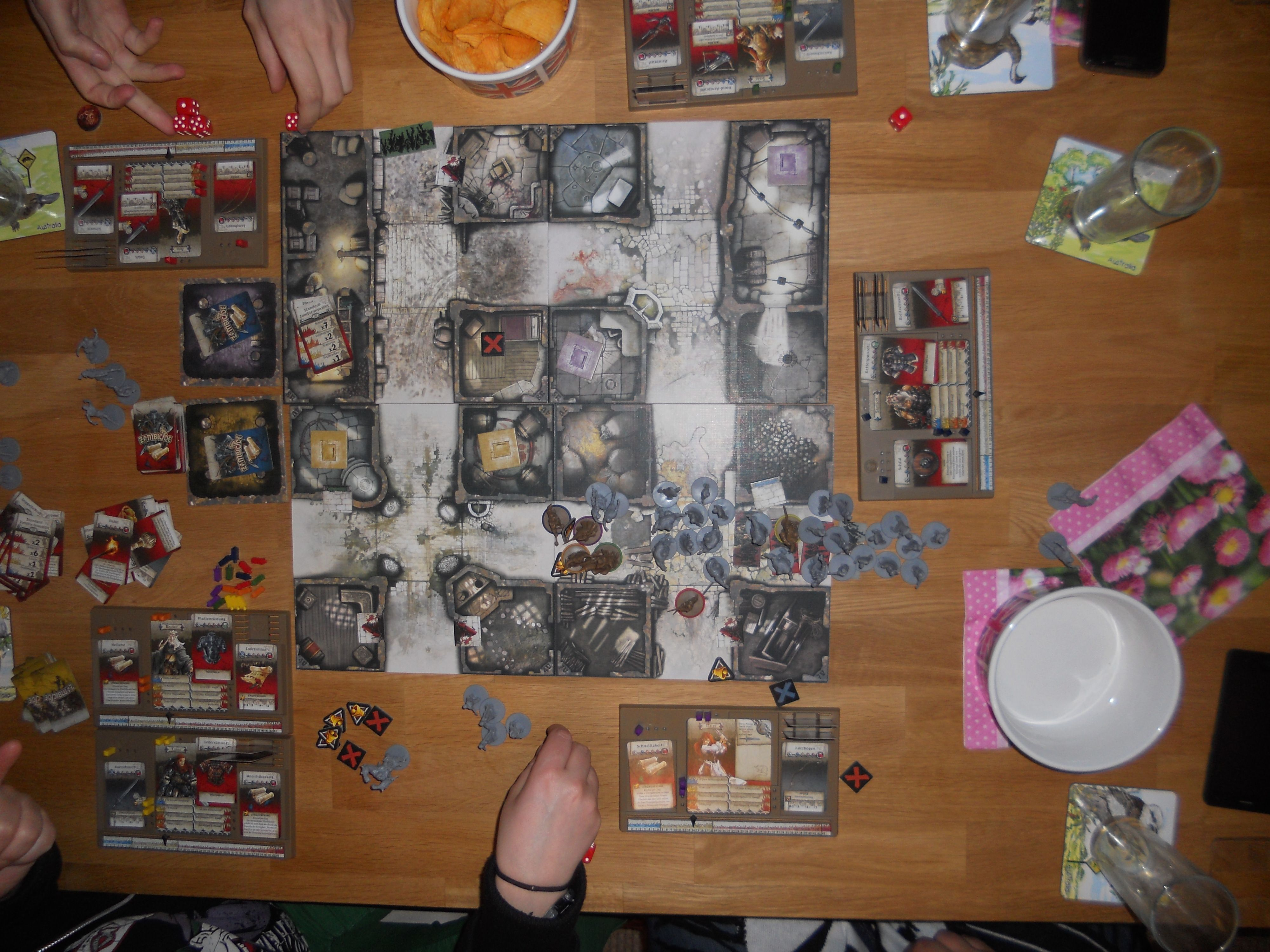 Boardgames And Cardgames At Wohnzimmer Cafebar Dortmund 060918
