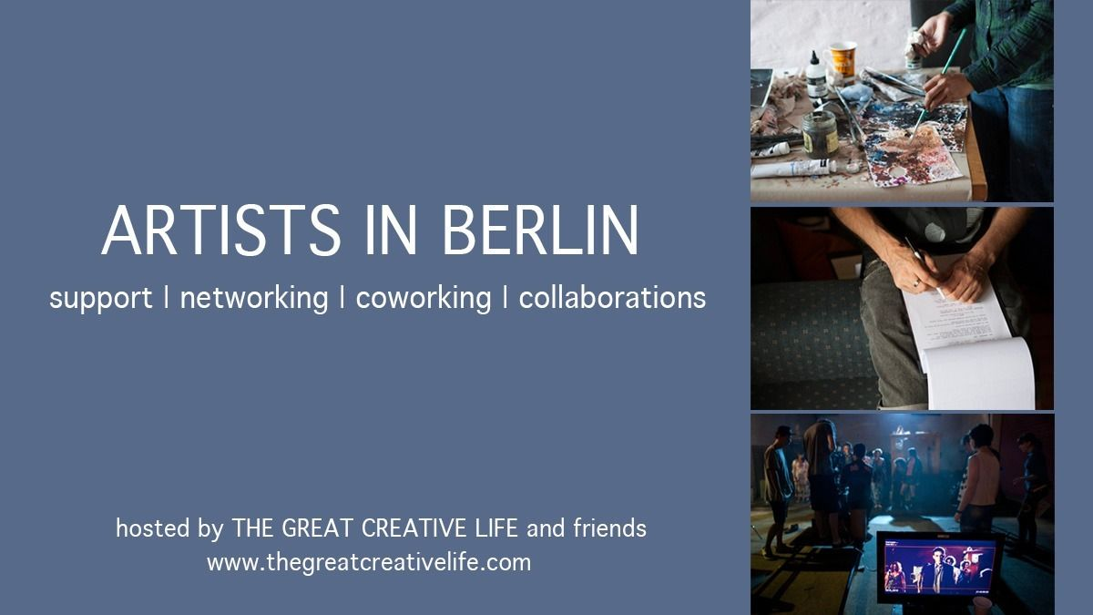 Artists and Creatives Co-working in Berlin