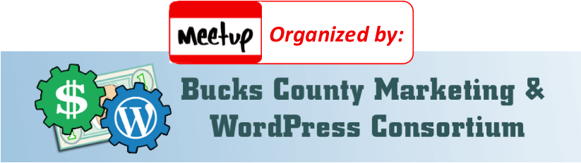 Bucks County Marketing & WordPress Consortium