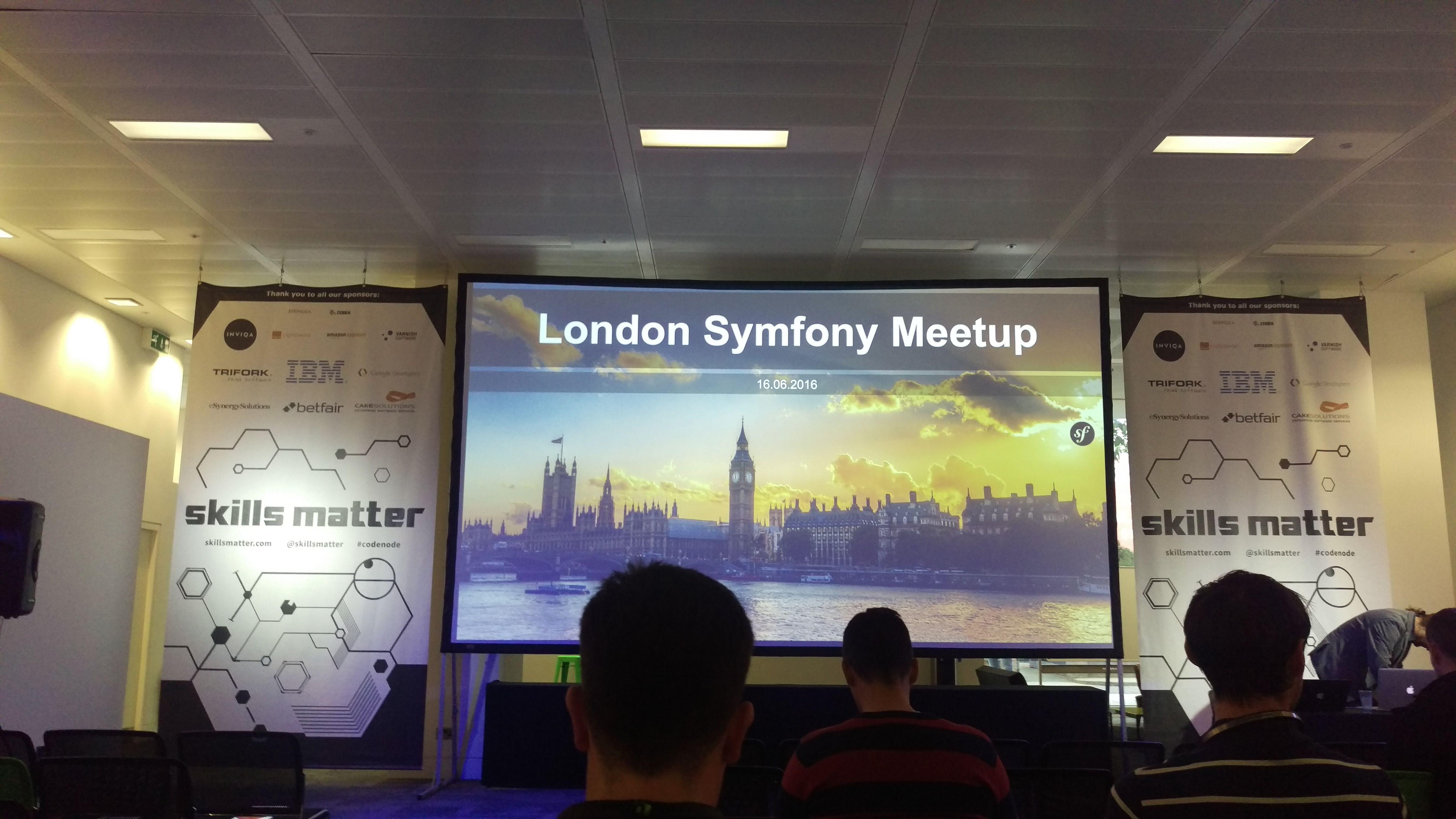 The UK Symfony Meetup