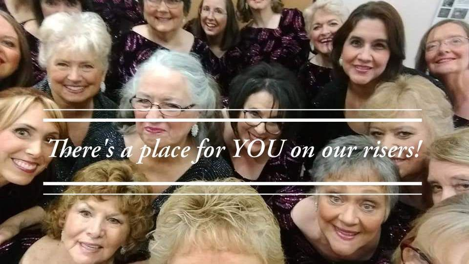 Women's A Cappella Singing, Shades of Harmony Chorus