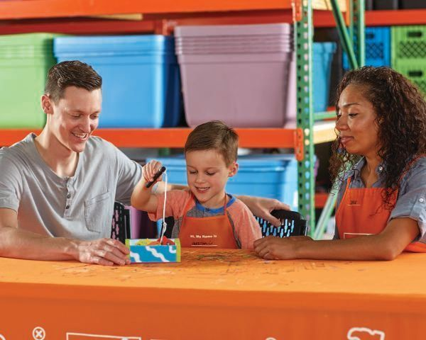 let 39 s build something together home depot kids build meetup. Black Bedroom Furniture Sets. Home Design Ideas