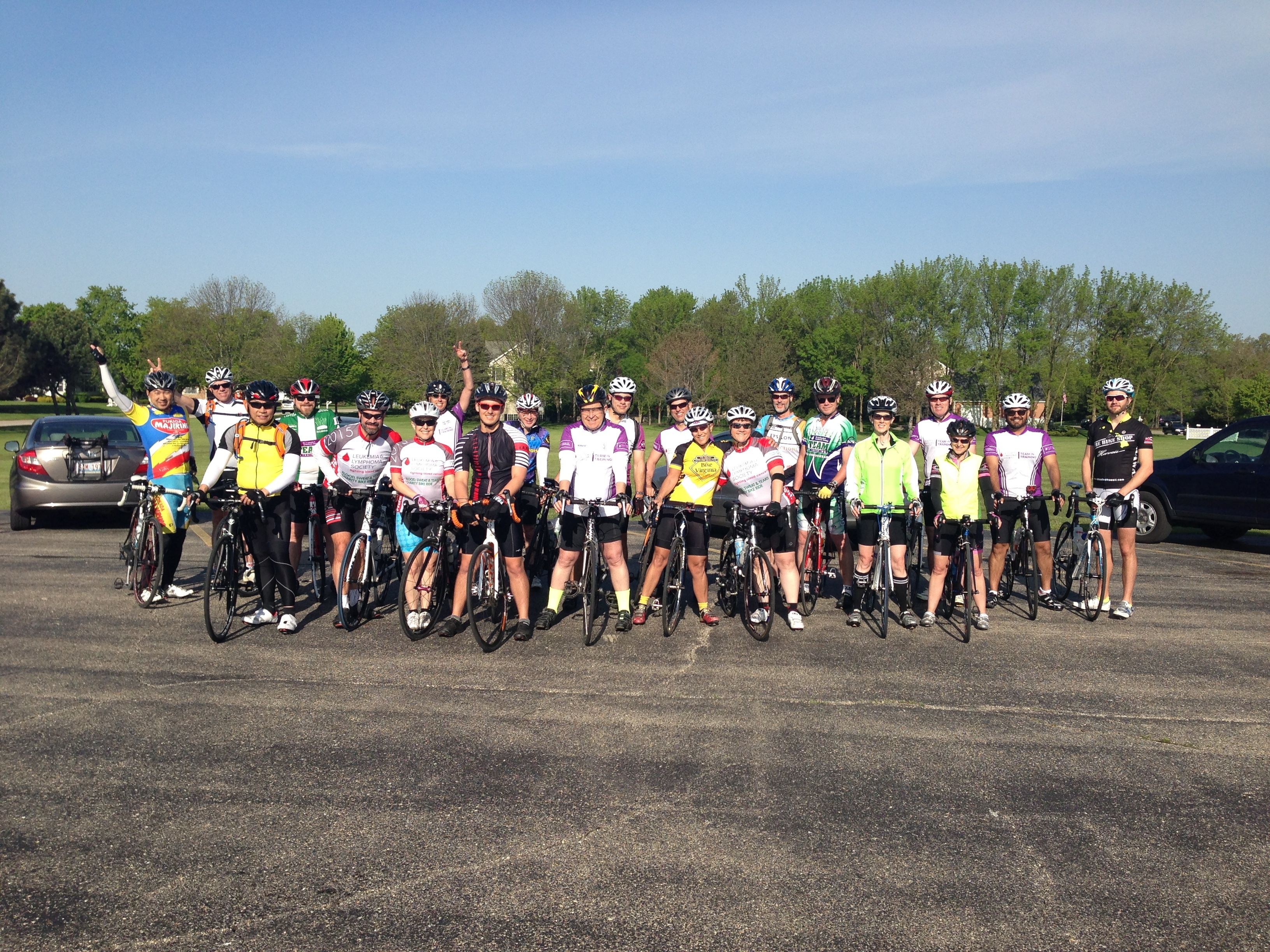 Team In Training, Cycle Team - Illinois