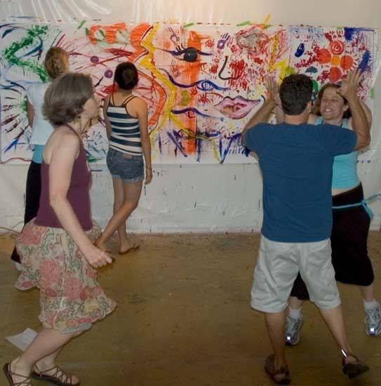 San Francisco / Bay Area Paint Dancing - PaintDancing.com