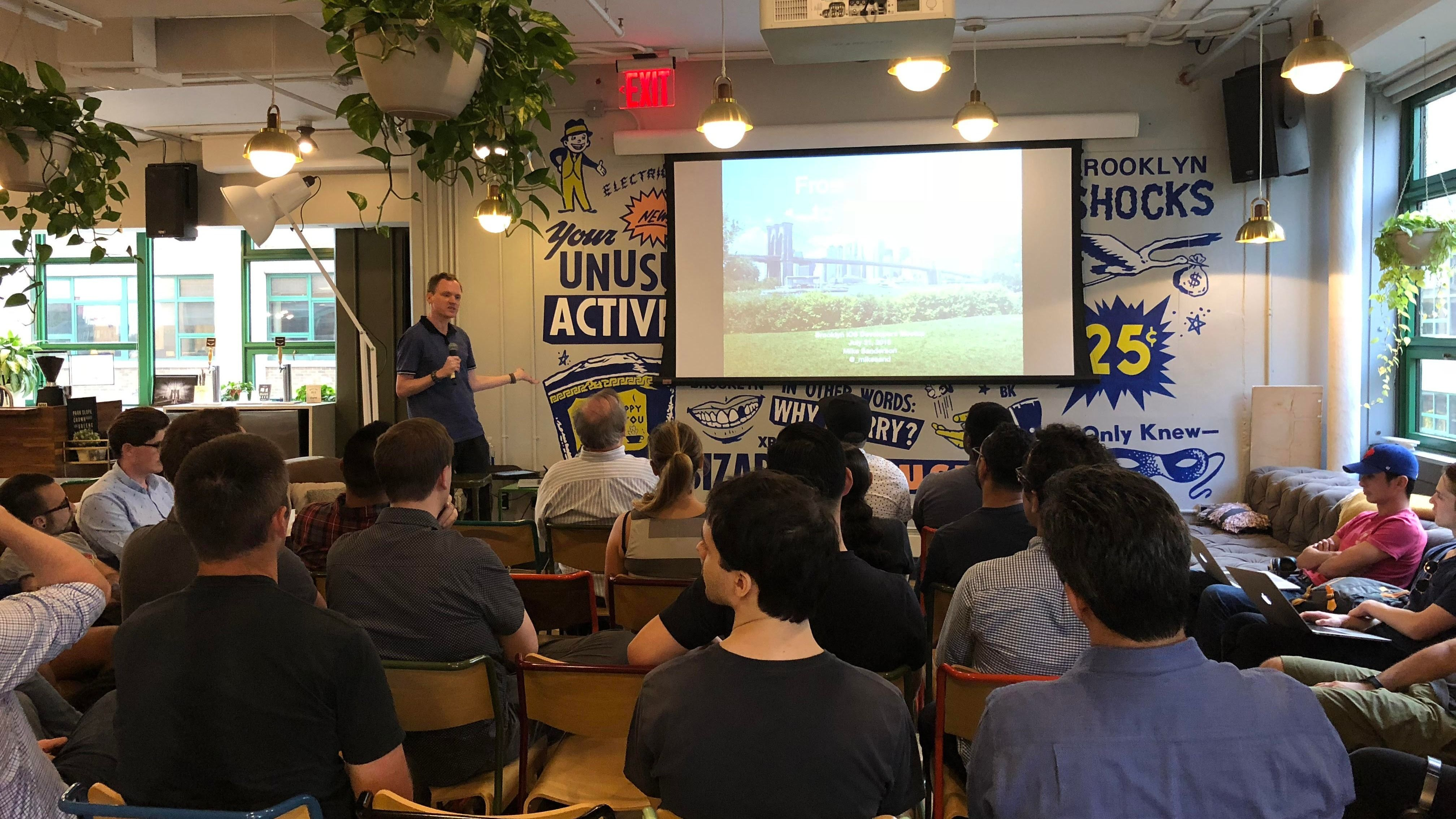 The Brooklyn iOS Developer Meetup