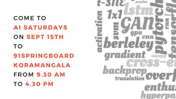 AI Saturdays Bangalore Chapter: Week 5 (fastai, pytorch