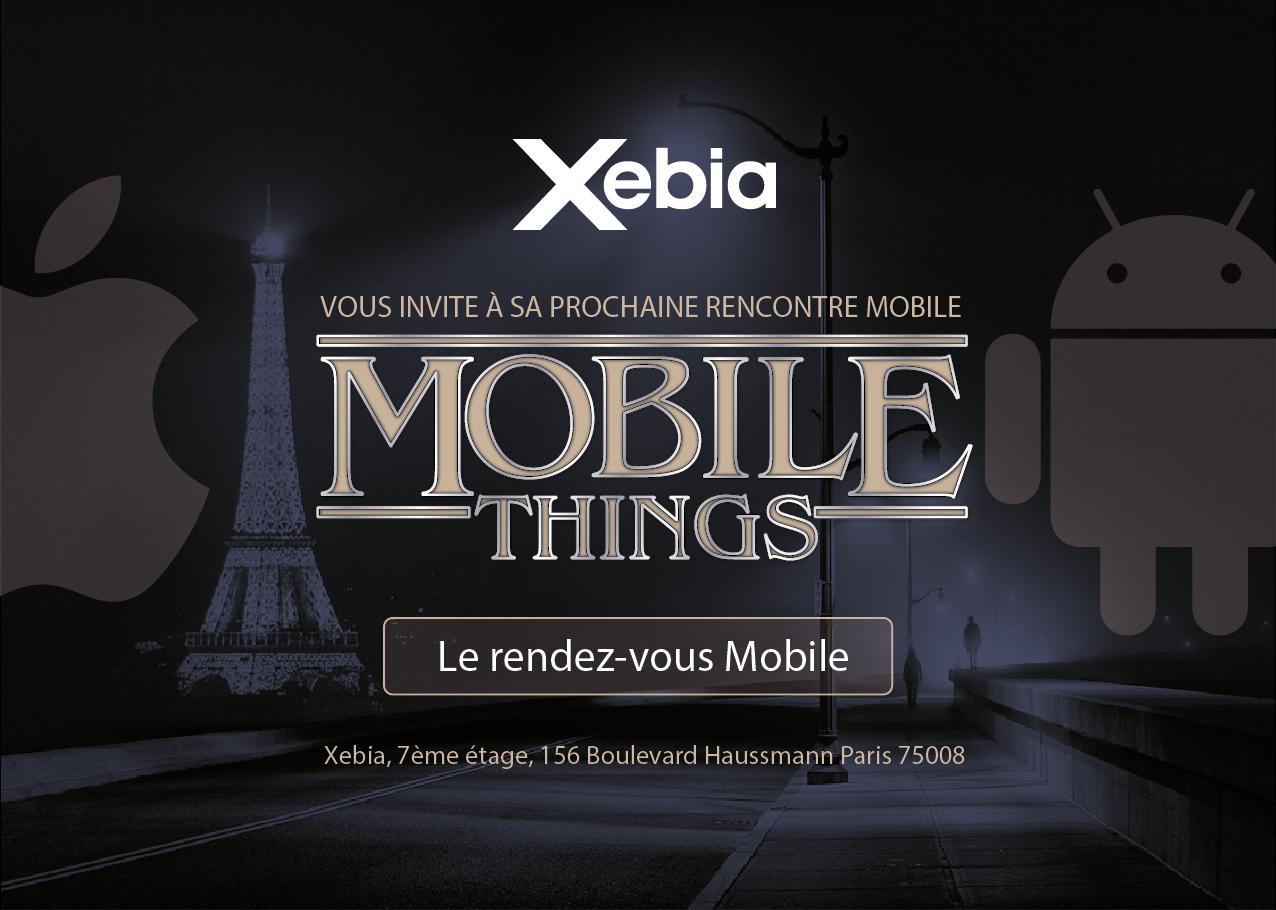Mobile Things