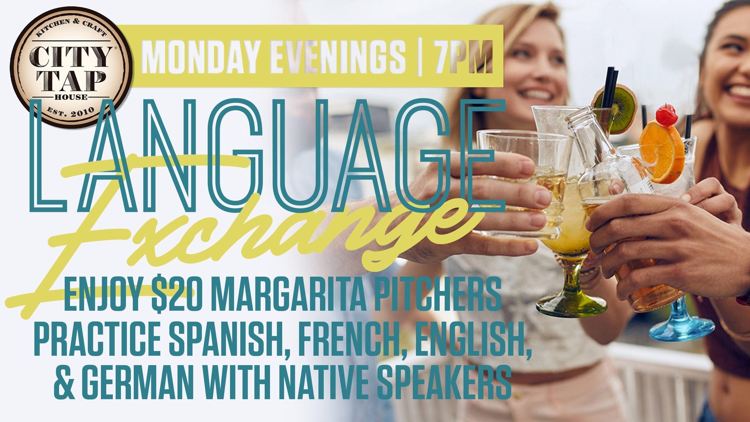 Language Exchange (ESL, Spanish, French, German, ...)