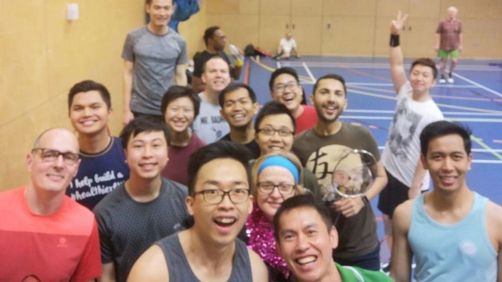 Smash Hits London Badminton Club.