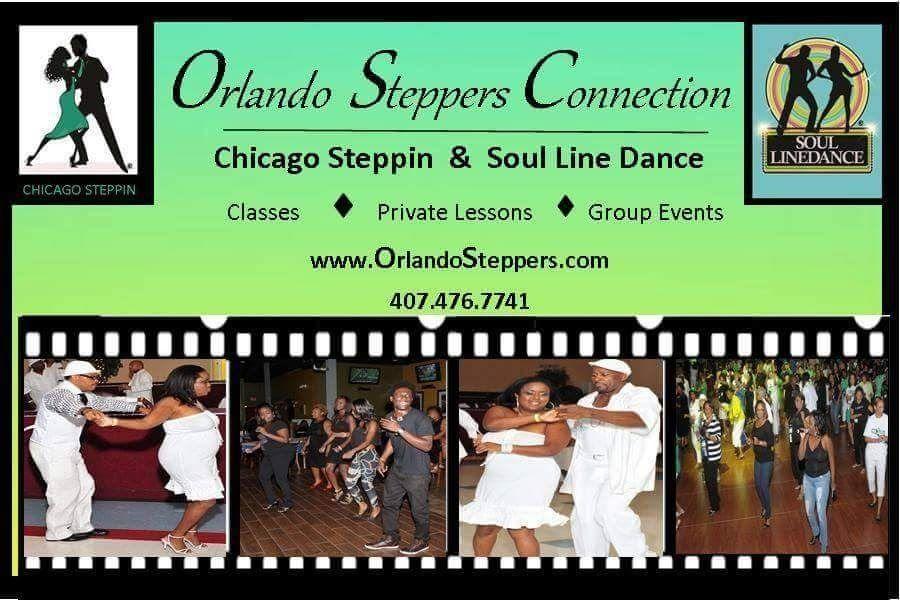 Orlando Steppers - Soul Line Dance & Chicago Steppin