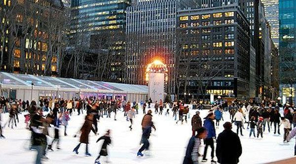 Chevron Station Near Me >> FREE : ICE SKATING AT THE POND AT BRYANT PARK,42 ND STREET ...