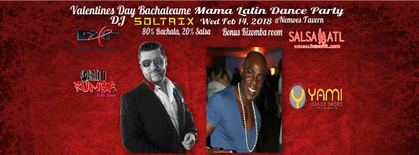 Atlanta Valentines Day Latin Night Bachateame Mama Feb 14th Meetup