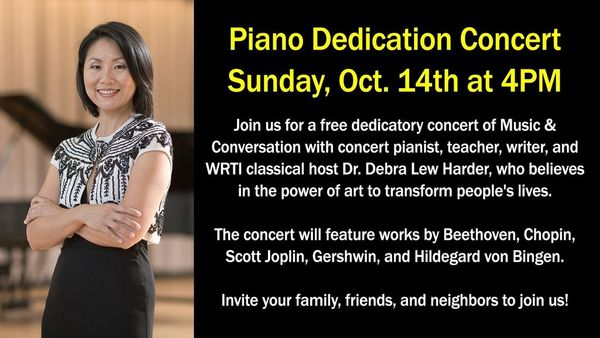Free Piano Dedication Concert at Trinity Presbyterian Church