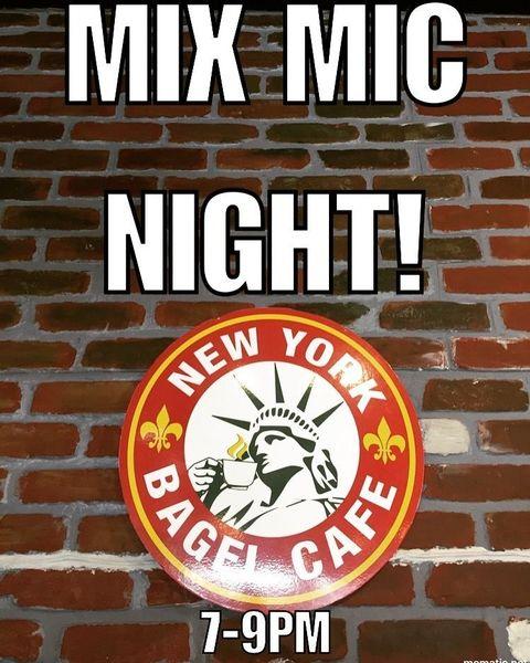 New York Bagel Cafe Mix Mic!