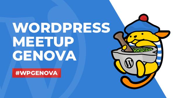 WordPress Meetup Genova