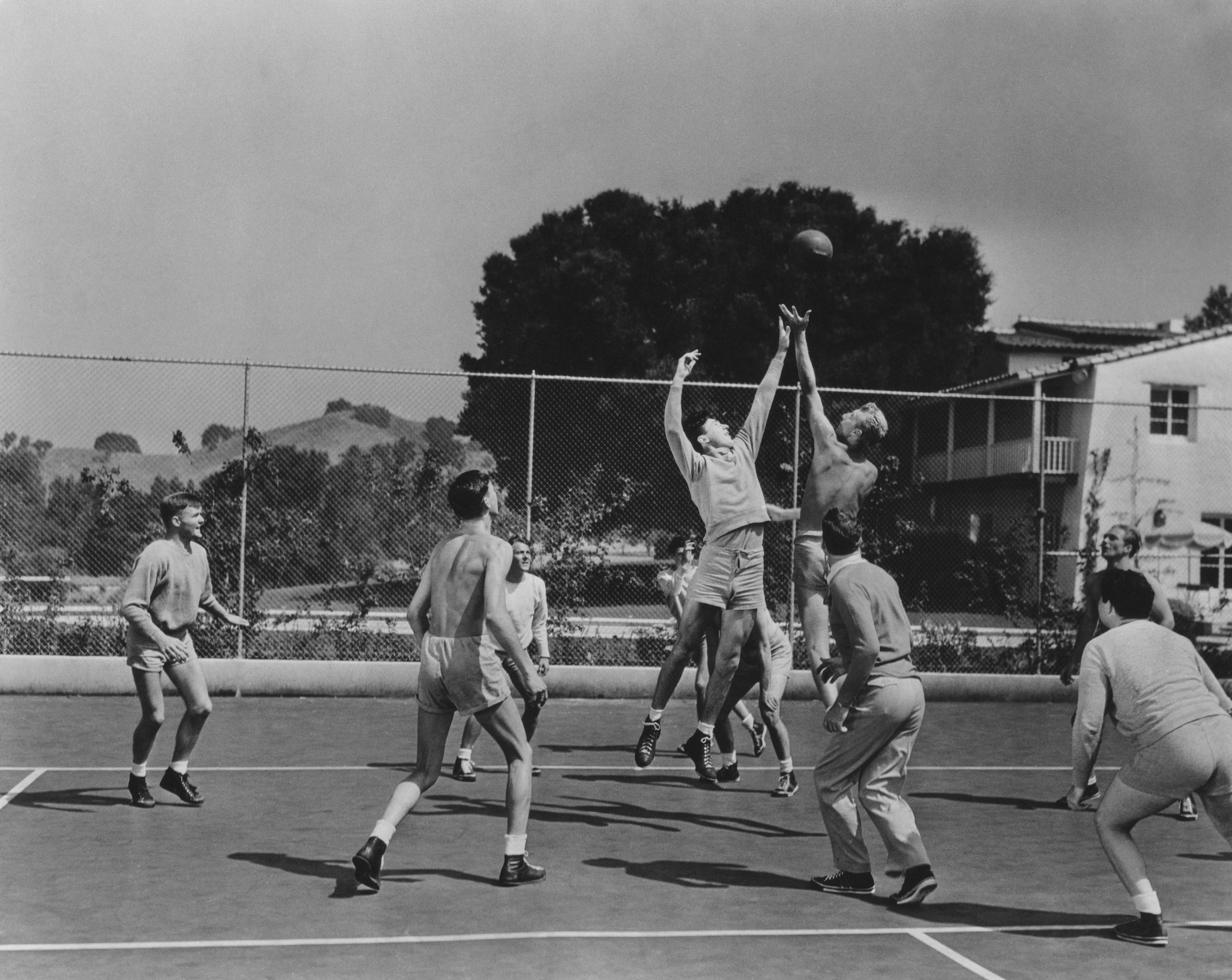 a brief history of the basketball