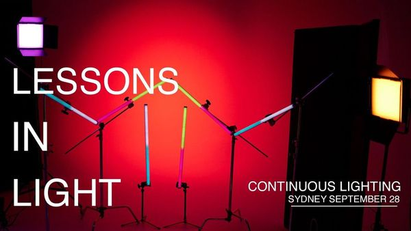 Lessons In Light Continuous Lighting Sydney