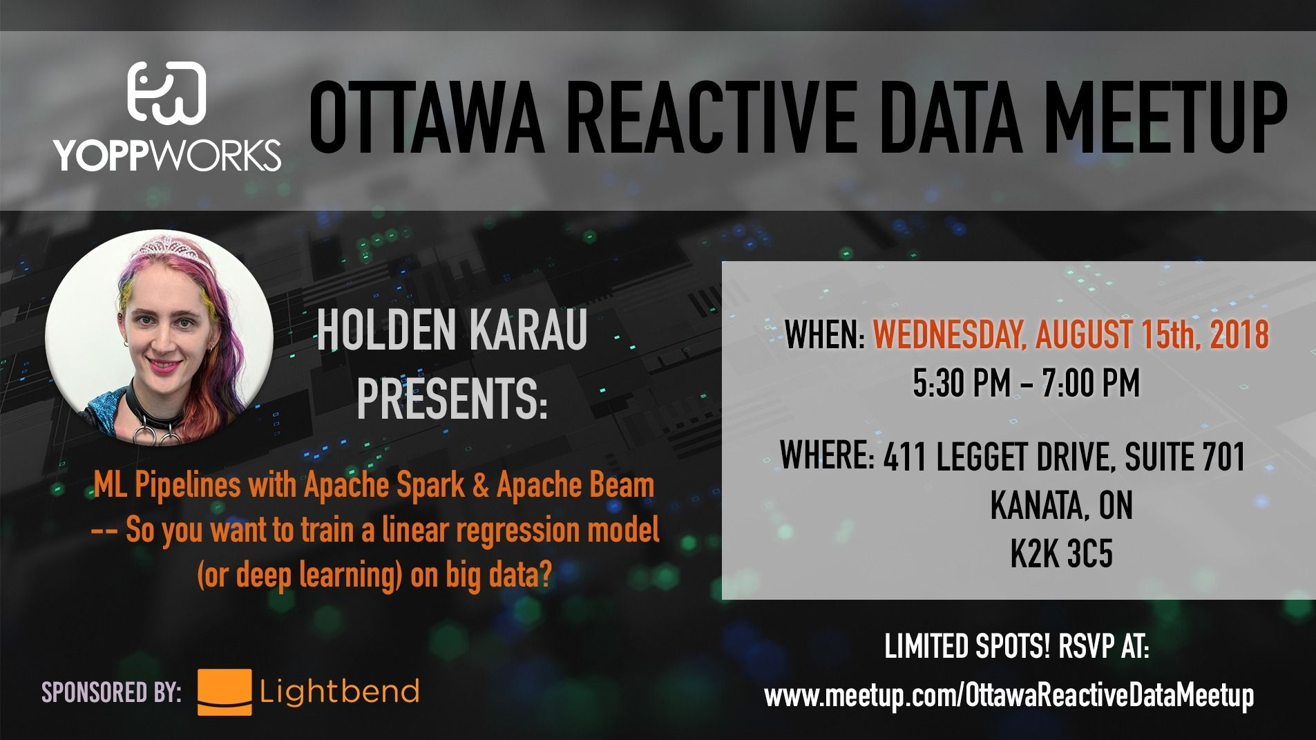 Past Events | The Reactive Data Meetup (Ottawa, ON) | Meetup