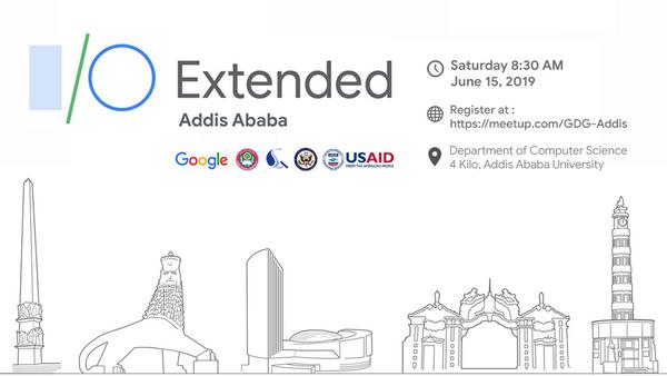 Google I/O Extended 2019 Addis Ababa | Meetup