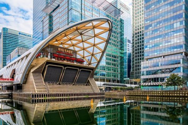 Professional Networking Giant Robot Canary Wharf