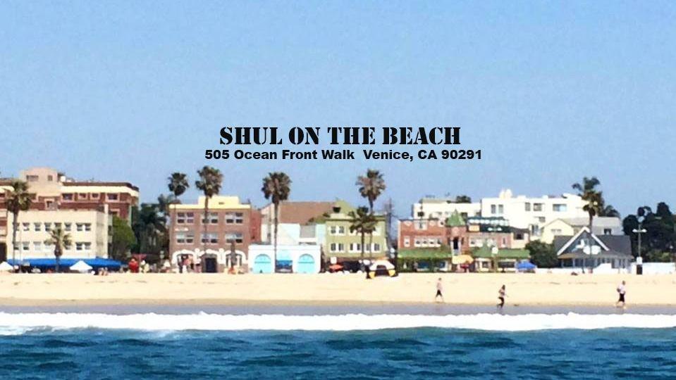 The Shul on the Beach in Venice Beach