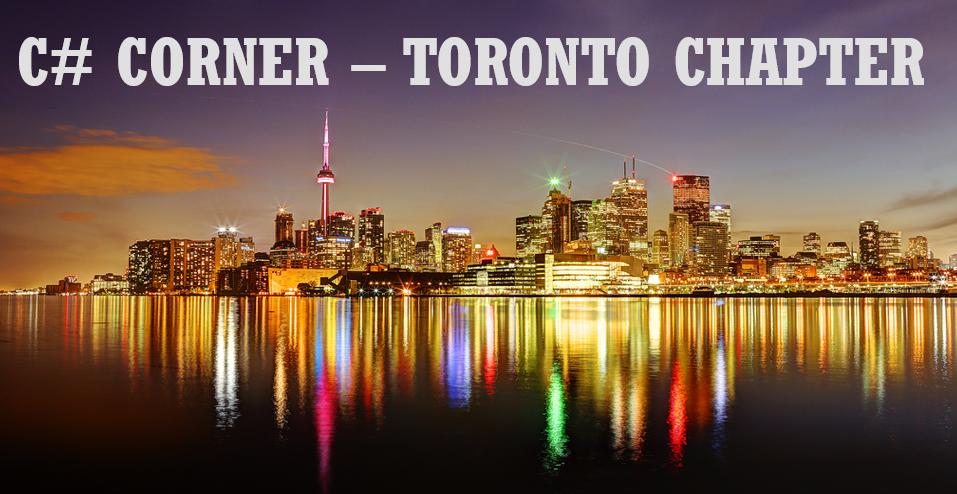 C# Corner Toronto Chapter Meetup