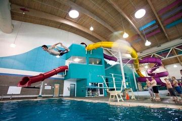Indoor Swimming Pool Water Slides 20 And 30 Somethings In Portland Awesome Stuff Portland