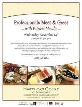 professional meet and greet invitation