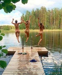 Sunny rest nudist colony