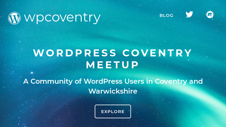 WordPress Coventry Meetup