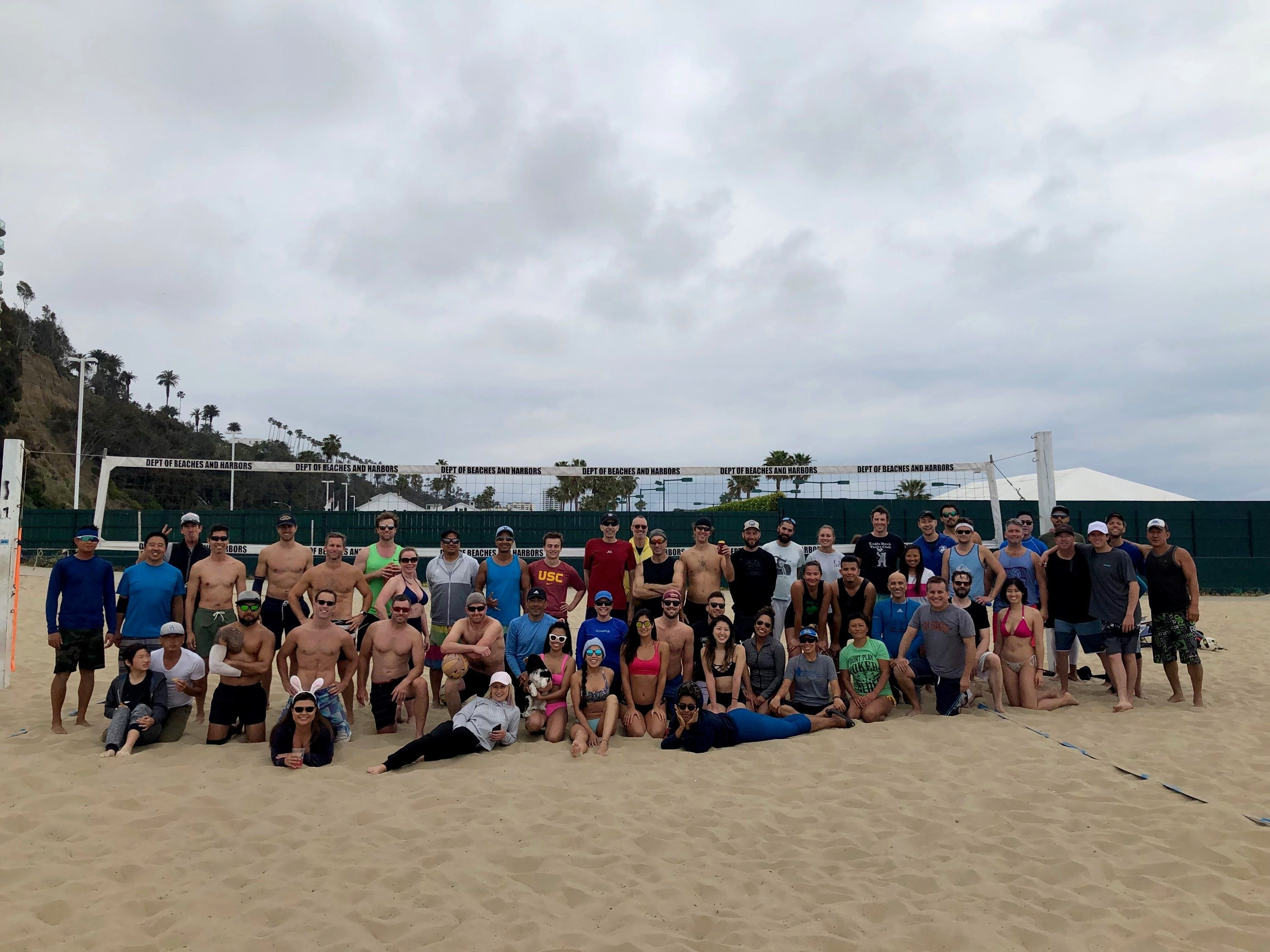 West LA Beach Volleyball