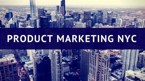 New York Tech Product Marketing Meetup