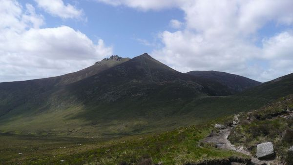 Mourne mountains routes