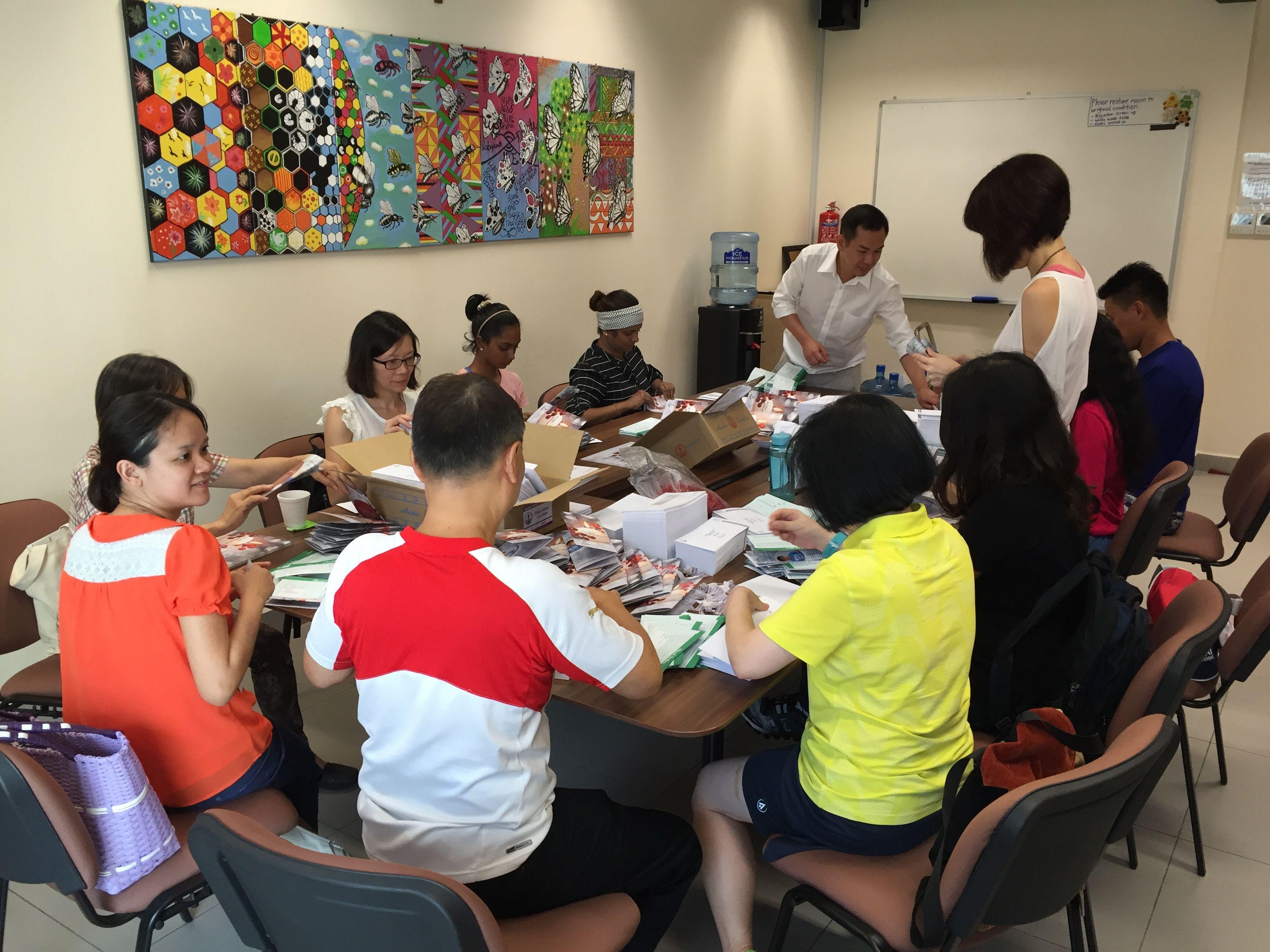 Singapore Cares Volunteer Outreach Group