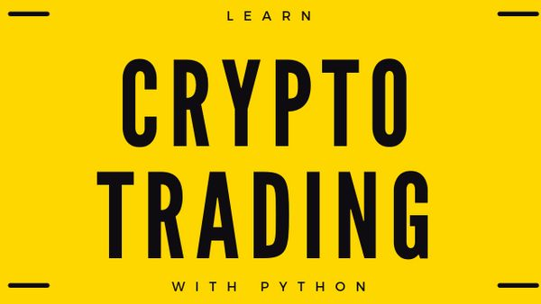 Trading system with python