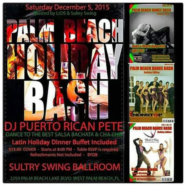 Beach Blanket Cha Cha Dance: Palm Beach Dance Bash Every First Saturday Of The Month