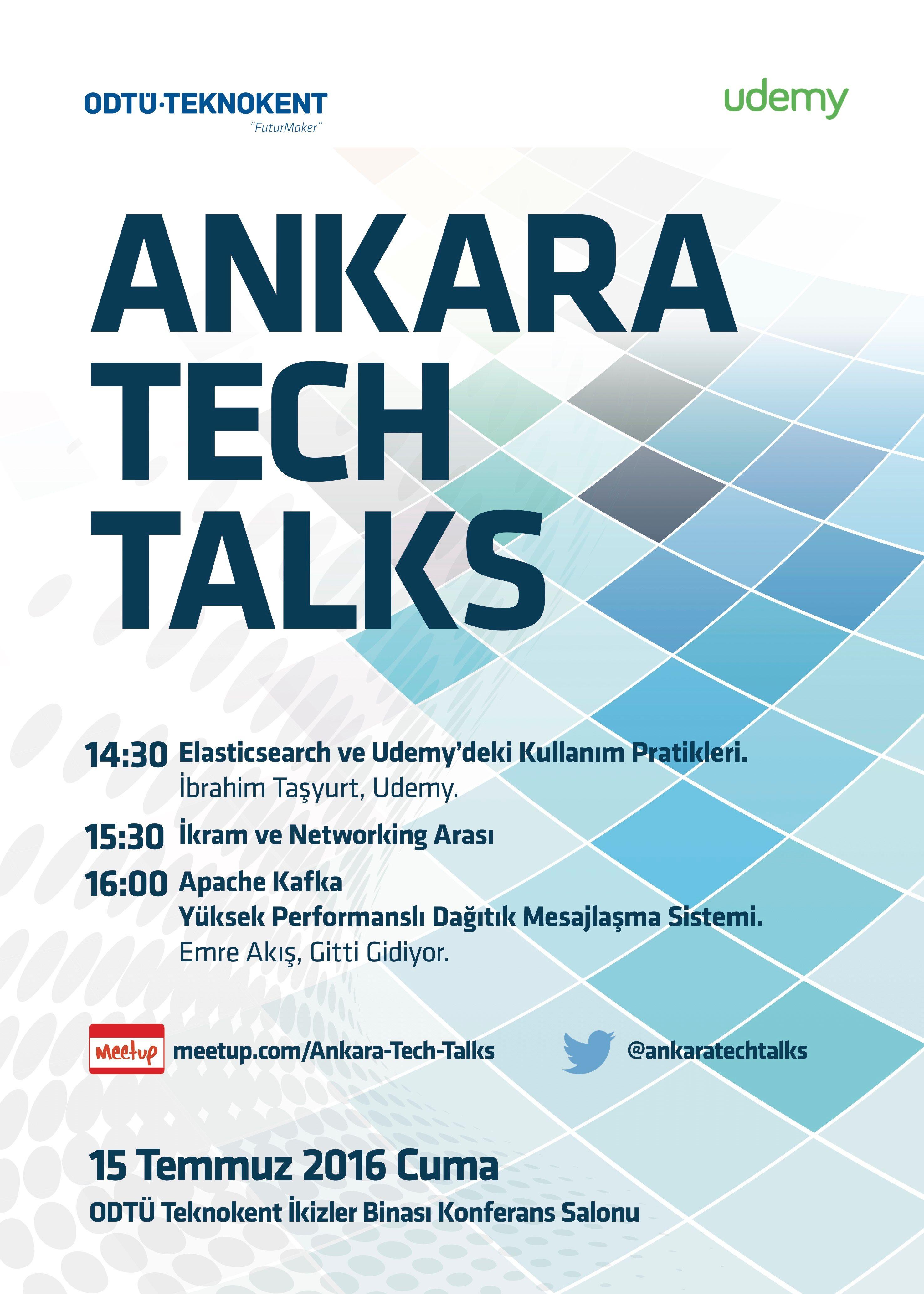 Photos - Ankara Tech Talks (Ankara) | Meetup
