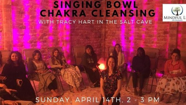 Sound Healing with Crystal Singing bowls with Tracy Hart
