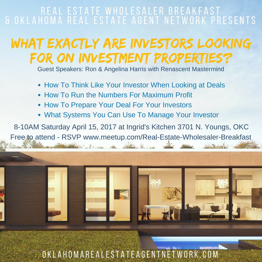 Real estate meetup