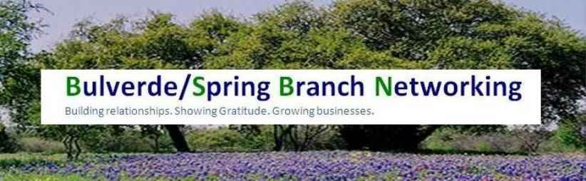 Bulverde/Spring Branch Networking Meetup