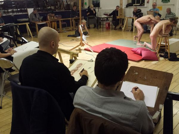 bethnal green london e2 life drawing cheese and wine night. Black Bedroom Furniture Sets. Home Design Ideas
