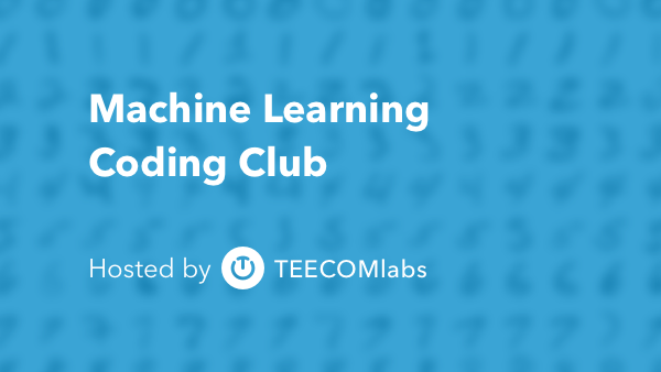 machine learning coding club meetup