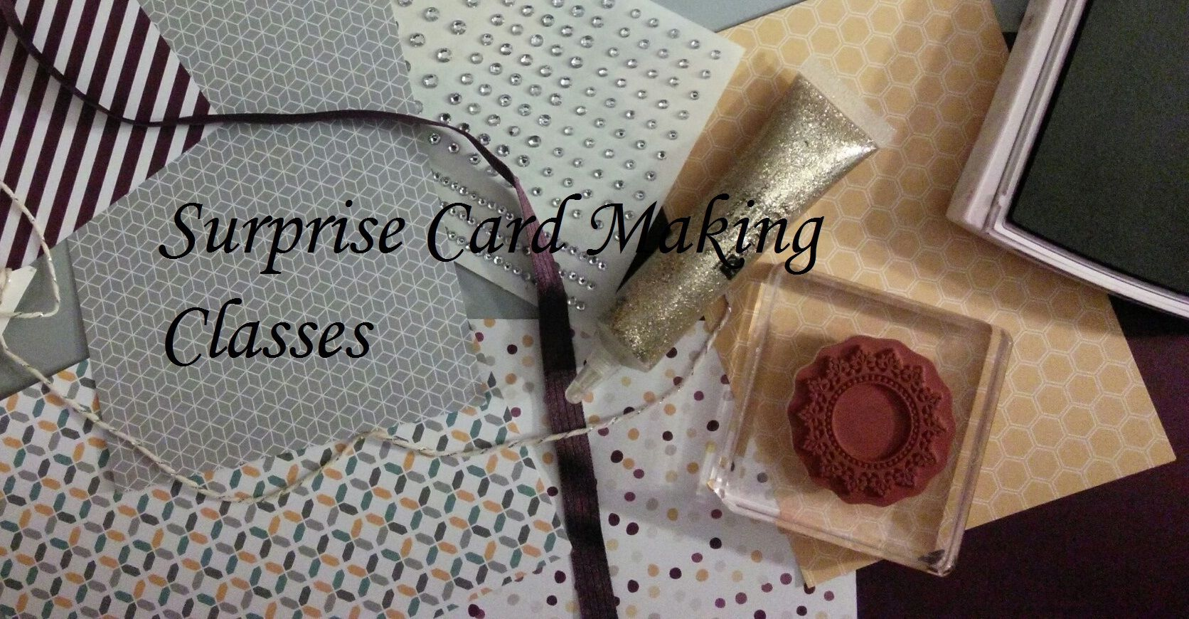 Surprise Card Making Classes