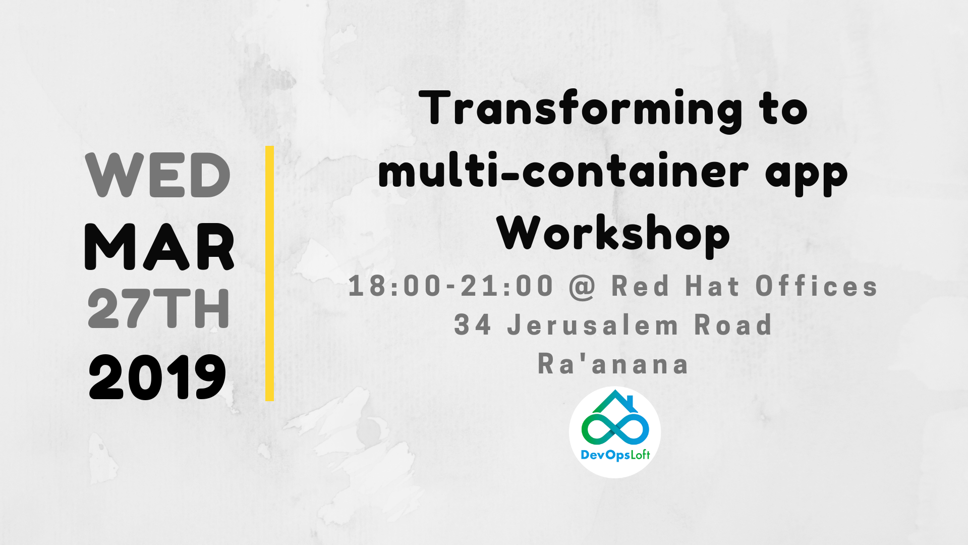Transforming to multi-container app Workshop
