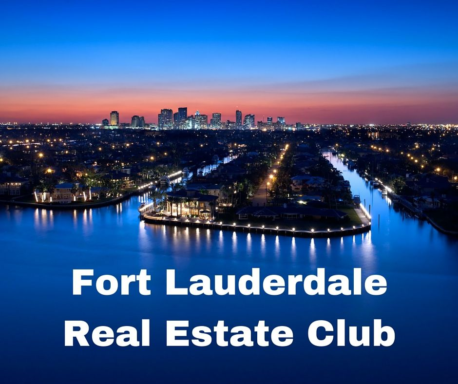 Ft Lauderdale Real Estate Investors: Networking and Training