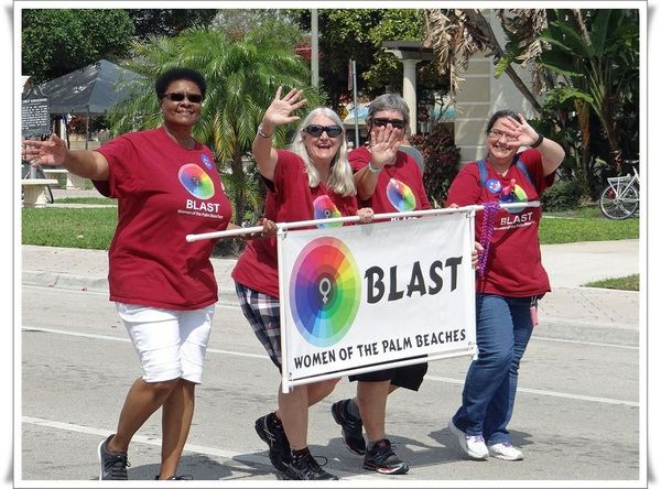 BLAST (Bi, Lesbian and Straight Together) Women of WPB