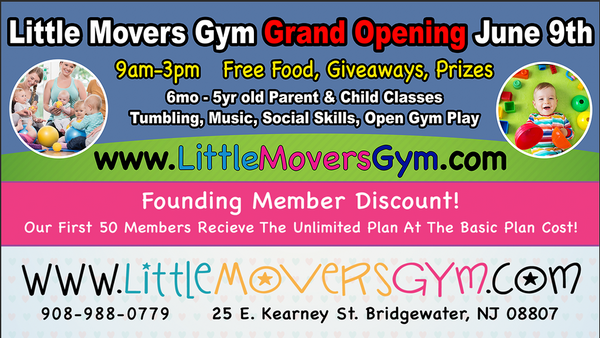 Little Movers Gym Grand Opening (Kids, Family) | Meetup