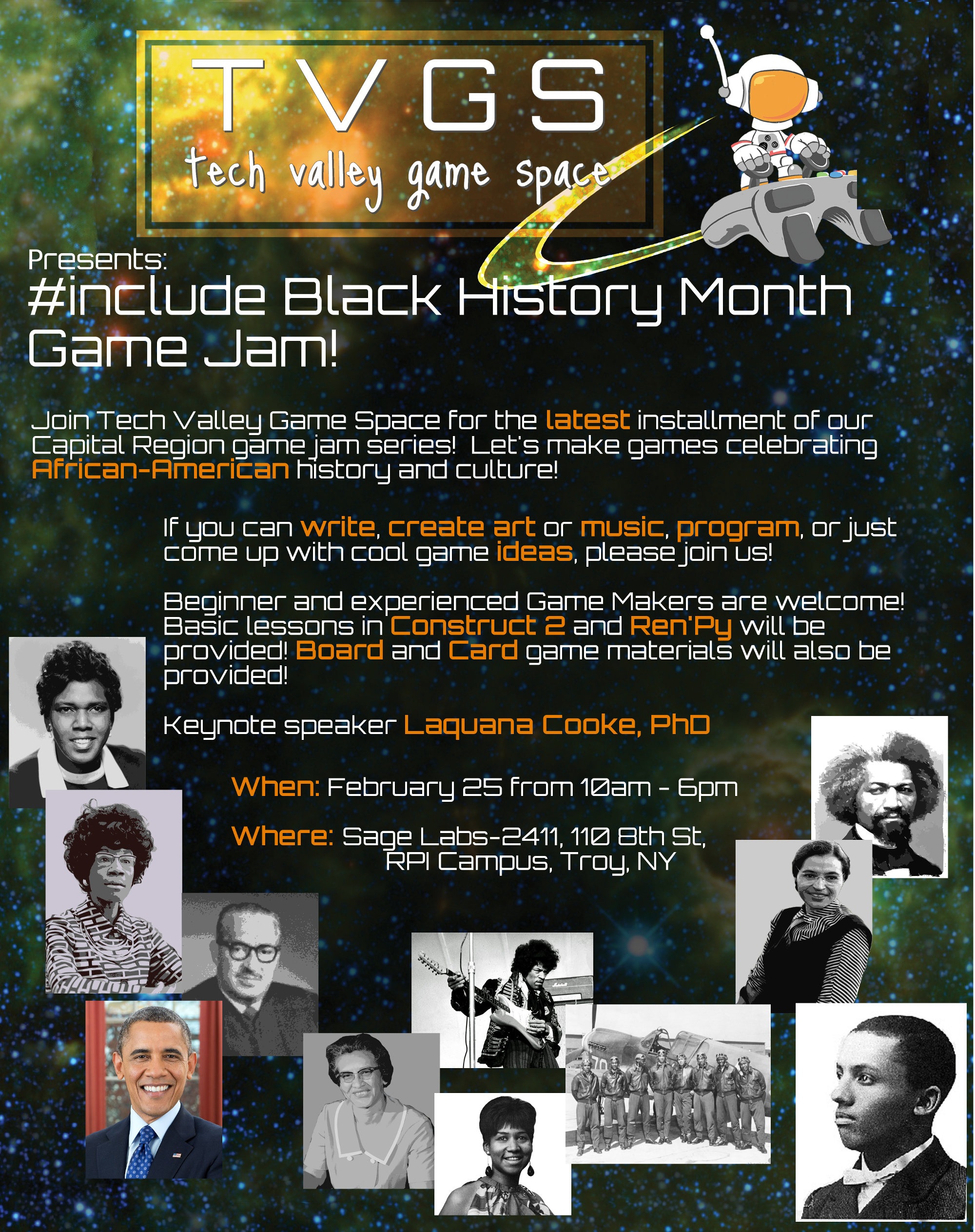 #include Black History Month Game Jam
