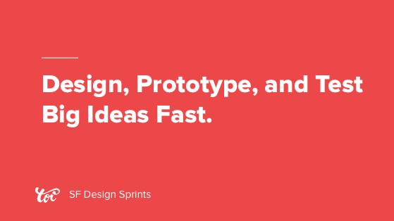 Design Sprint San Francisco